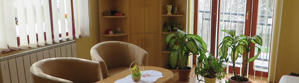 Domov sociálnych služieb pre deti a dospelých v Medveďove - obývačka