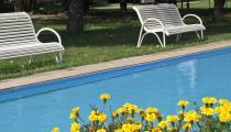 Exteriér - bazén