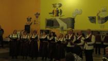 vystúpenie speváckeho zboru