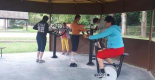 Cvičenie na prístrojoch 1